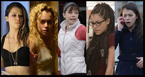 Tatiana Maslany as the clones