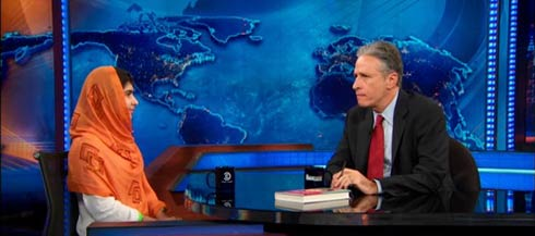 Jon Stewart's Interview with Malala