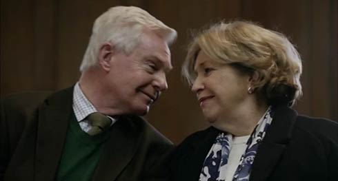 Derek Jacobi and Anne Reid in Last Tango in Halifax