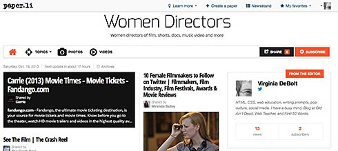 Women Directors Daily News