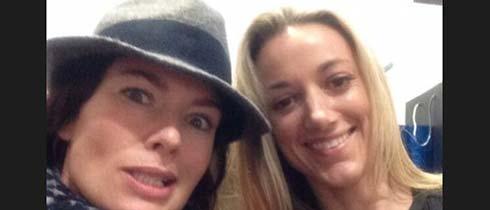 Lena Headey and Zoie Palmer