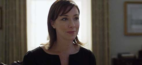 Molly Parker as Jackie Sharp