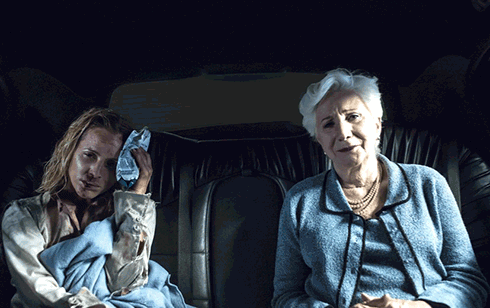 Maria Bello and Olympia Dukakis in Big Driver