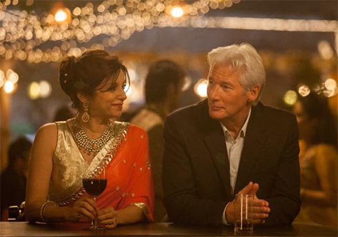 Lillete Dubey and Richard Gere