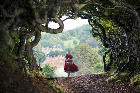 Lilla Crawford as Little Red Riding Hood in Into the Woods