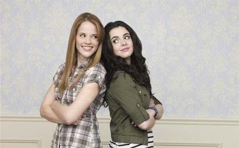 Katie Leclerc and Vanessa Marano in Switched at Birth
