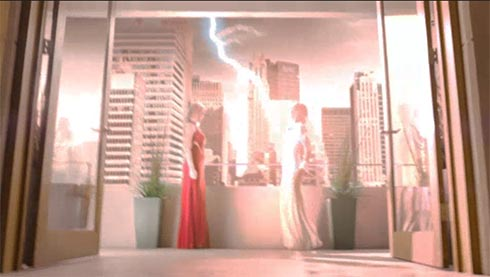 Tamsin hit by lightning