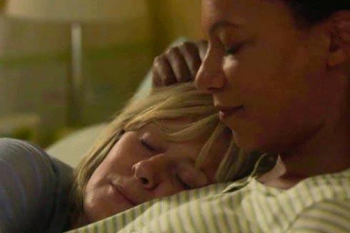 Caroline asleep