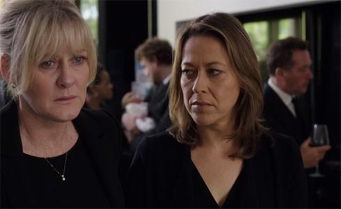 Caroline and Gillian talk