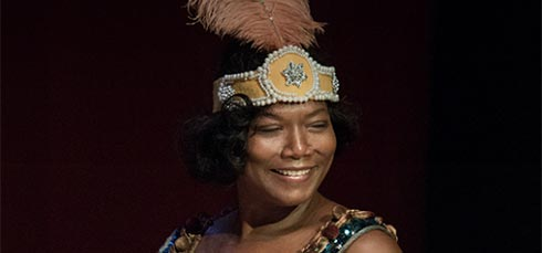 Queen Lafifah as Bessie Smith