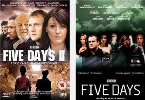 Posters for 2 seasons of Five Days