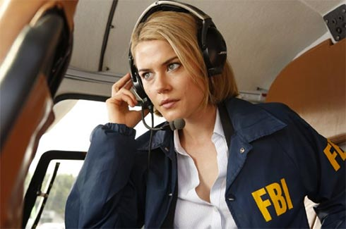 """Rachael Taylor in a scene from """"Crisis."""""""