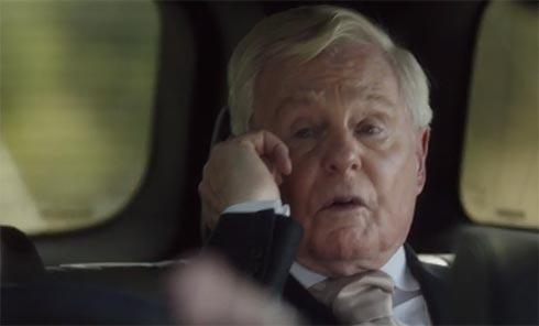 Alan talks to Celia on the phone