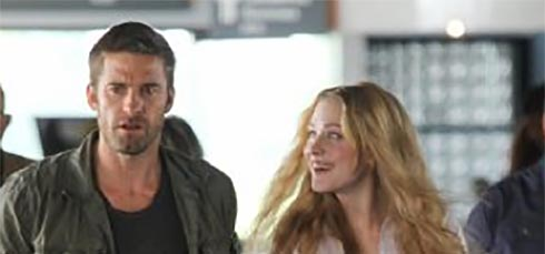 Scott Speedman and Evan Rachel Wood in Barefoot