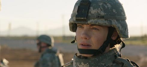 Michelle Monaghan in Fort Bliss