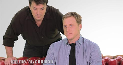 Nathan Fillion and Alan Tudyk want to get the Firefly alums together for a web series