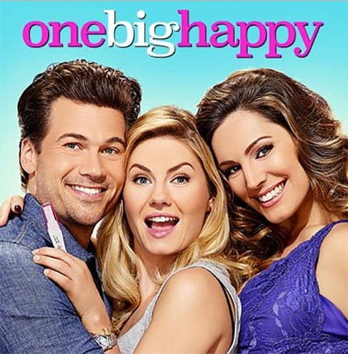 One Big Happy stars Nick Zano, Elisha Cuthbert and Kelly Brook
