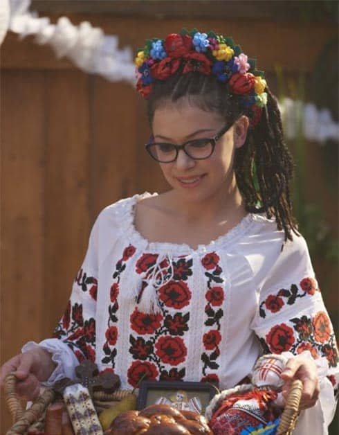 Tatiany Maslany as Cosima in Orphan Black