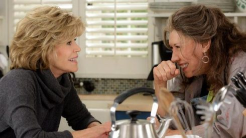 Jane Fonda and Lily Tomlin in Grace & Frankie