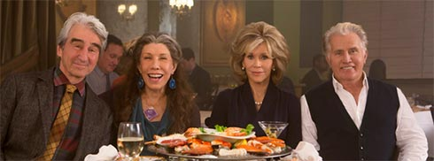 The cast of Grace & Frankie