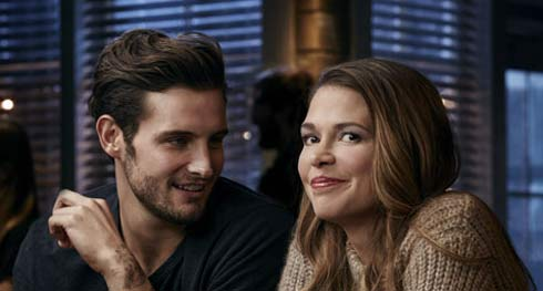 Nico Tortorella and Sutton foster from Younger