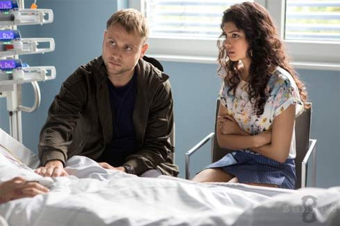 The German Wolfgang is played by Max Riemelt and the Indian Kala is played by Tina Desai.
