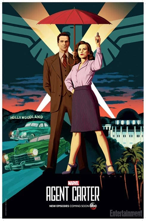 Agent Carter Season 2 poster from Marvel