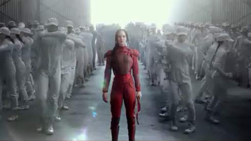 Katniss and her freedom fighters