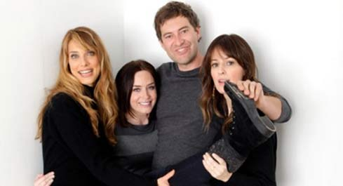 Lynn Shelton, Emily Blunt, Mark Duplass and Rosemarie DeWitt