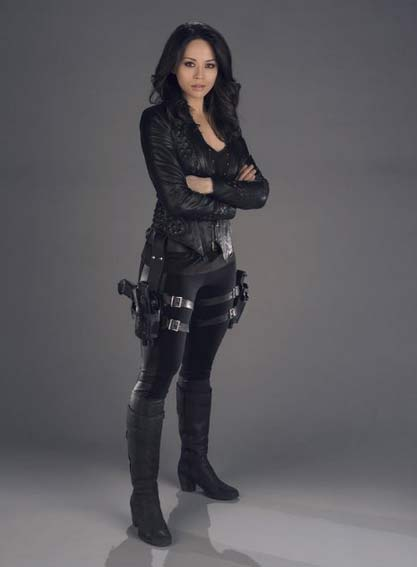Melissa O'Neil as Two is one badass character