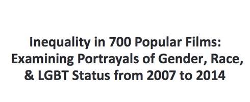 Inequality in 700 Popular Films
