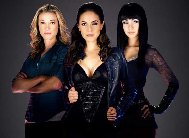 zoie palmer, anna silk, ksenia solo in Lost Girl costumes