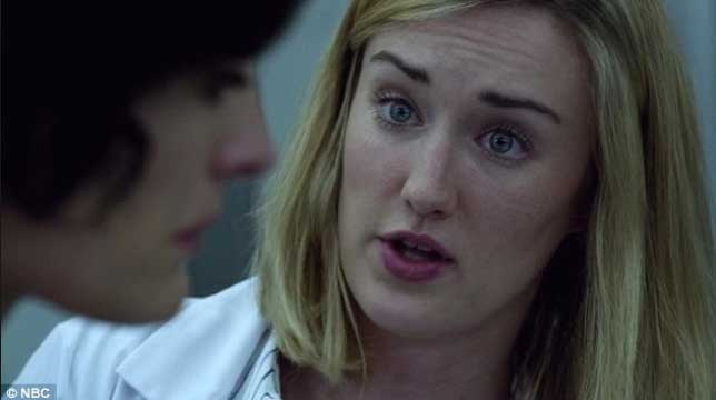 Ashley Johnson and Jaime Alexander in Blindspot