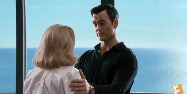 Cheyenne Jackson and Gena Rowlands dance in Lily's apartment