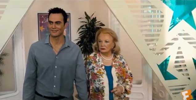 Cheyenne Jackson and Gena Rowlands in Six Dance Lessons in Six Weeks