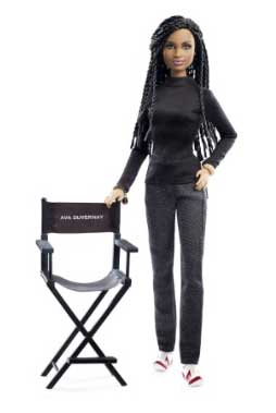 The Ava Du Vernay Barbie doll