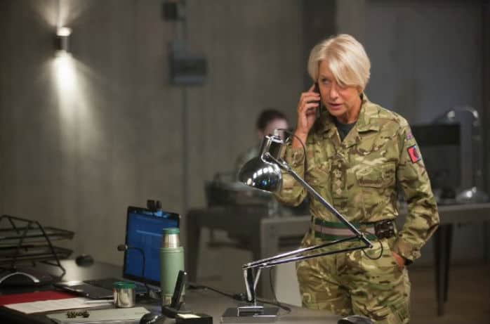 Helen Mirren in a scene from Eye in the Sky