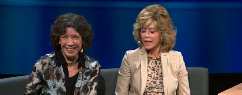 Lily Tomlin and Jane Fonda Talk about Female Friendship