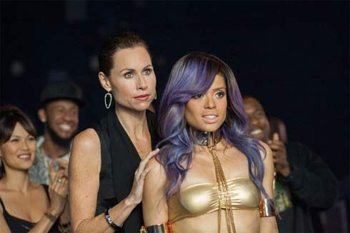 Minnie Driver and Gugu Mbatha-Raw in Beyond the Lights