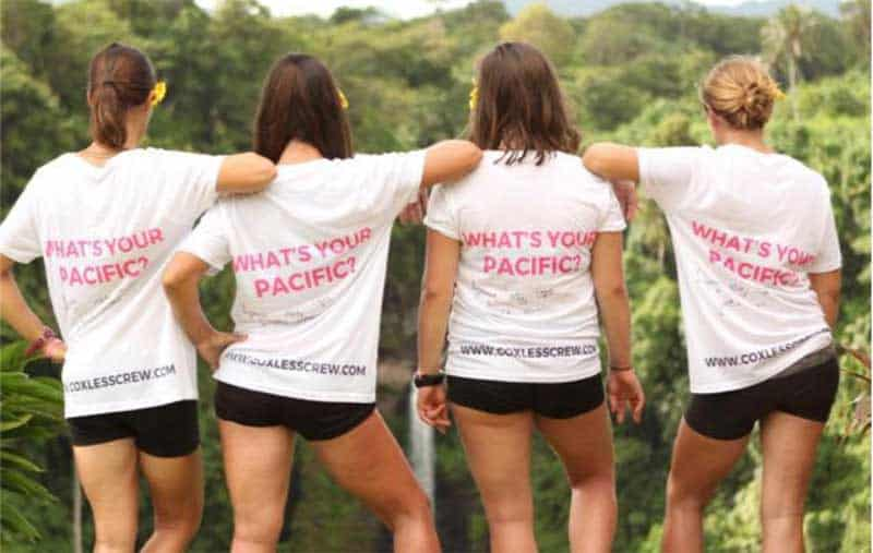 Losing Sight of Shore: 4 Women Row Across the Pacific – UPDATED