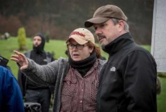 Sally Wainwright directing Happy Valley