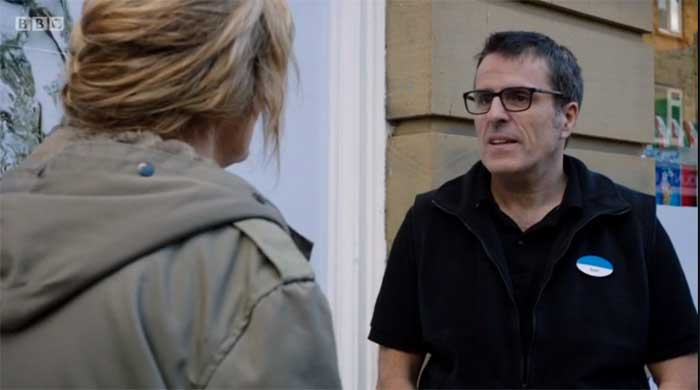 Siobhan Finneran and Con O'Neill in Happy Valley