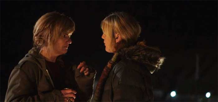 Siobhan Finneran and Sarah Lancashire in Happy Valley