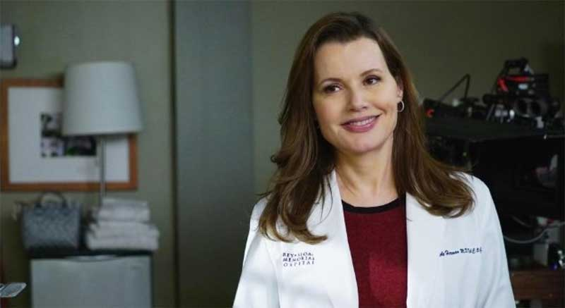 "Geena Davis in ""Grey's Anatomy"""