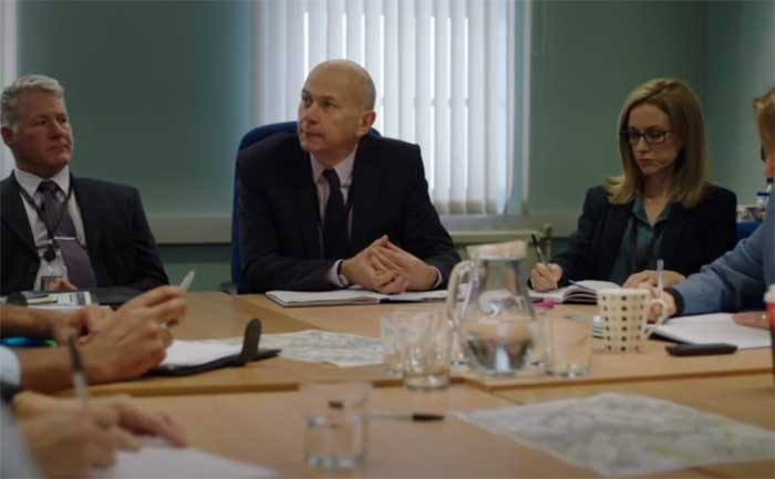 Vincent Franklin and Katherine Kelly in Happy Valley