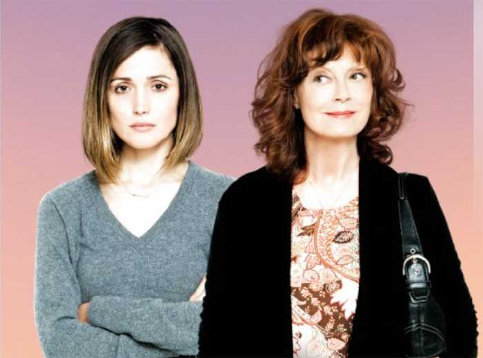 Rose Byrne and Susan Sarandon in The Meddler
