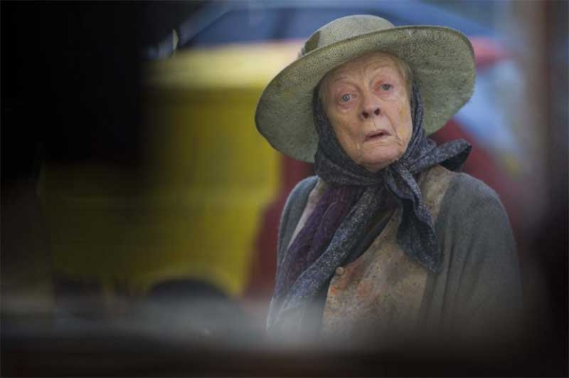 Maggie Smith in The Lady in the Van