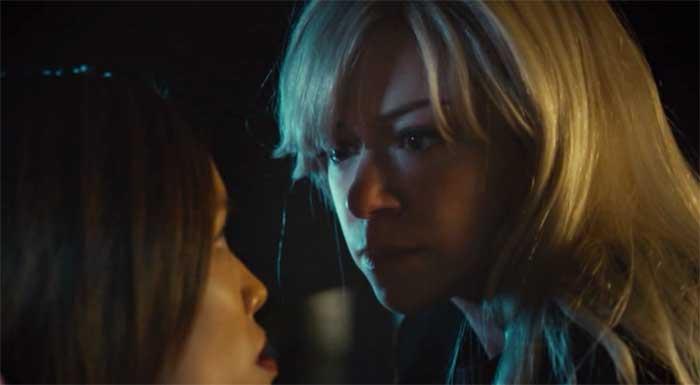Jessalyn Wanlim and Tatiana Maslany in Orphan Black
