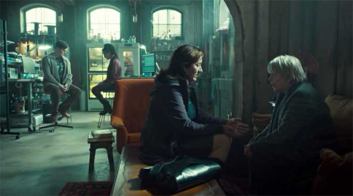 Maria Doyle Kennedy and Alison Steadman in Orphan Black
