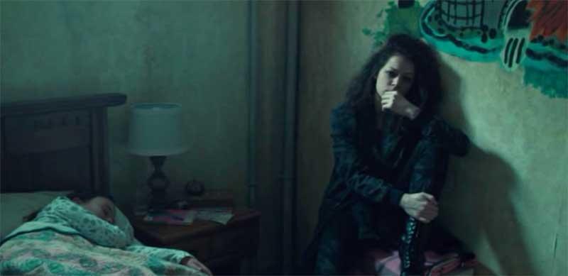 Skyler Wexler and Tatiana Maslany in Orphan Black